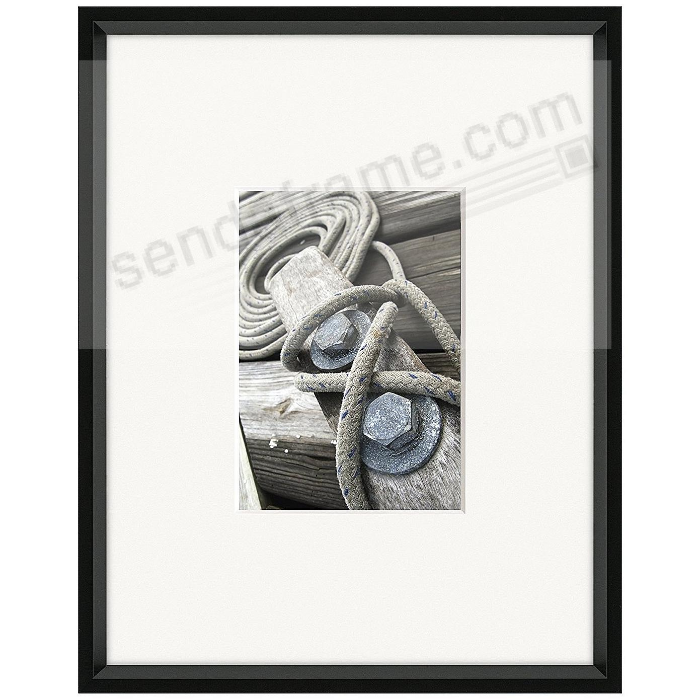 GALLERY matted Matte-Black metallic frame 11x14/5x7 from ARTCARE® by ...