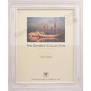 Distressed White Wood Finish 12x18 frame by Dennis Daniels®