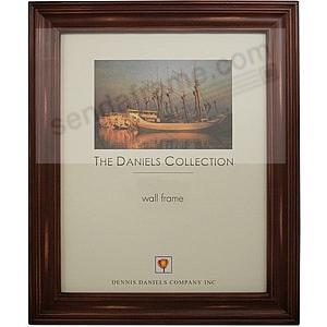 Distressed Walnut Wood Finish 11x17 frame by Dennis Daniels®