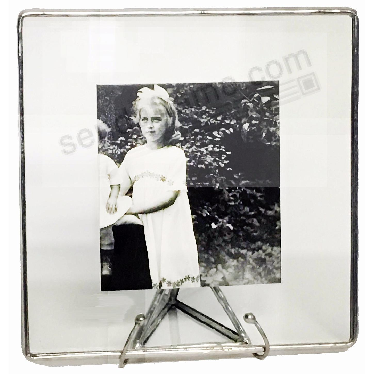 Picture frames photo albums personalized and engraved digital clear glass float frame 8x810x10 silver by bedford downingreg jeuxipadfo Image collections