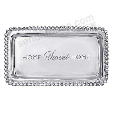 The original HOME SWEET HOME STATEMENT TRAY crafted by Mariposa®