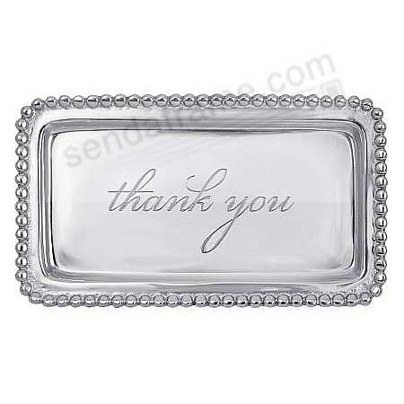 The original THANK YOU STATEMENT TRAY crafted by Mariposa®
