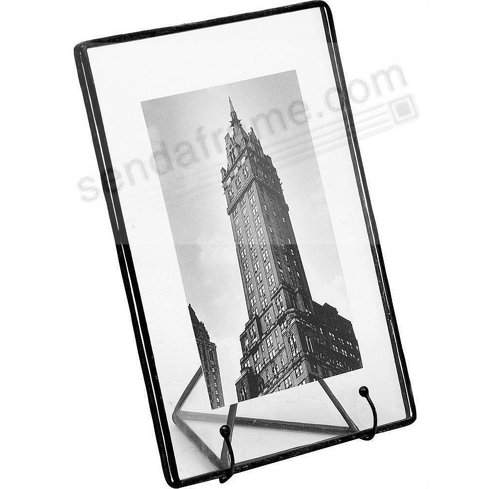 Clear Glass Float Frame 5½x7/4x6 BLACK by Bedford Downing®