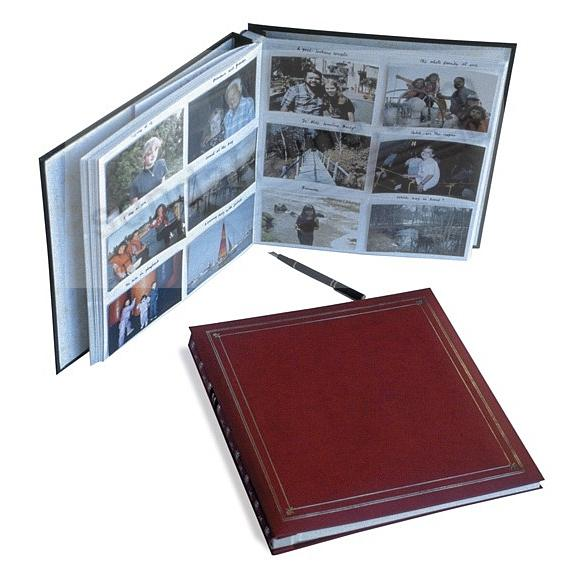 12-at-a-time ELITE Burgundy slip-in 5x3½ pockets album by Pioneer®