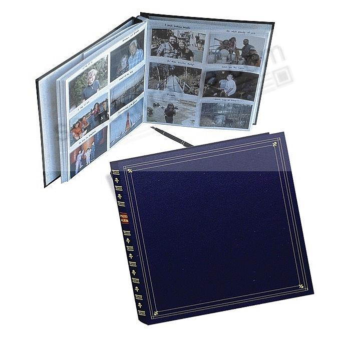 12-at-a-time ELITE Navy-Blue slip-in 5x3½ pockets album by Pioneer®