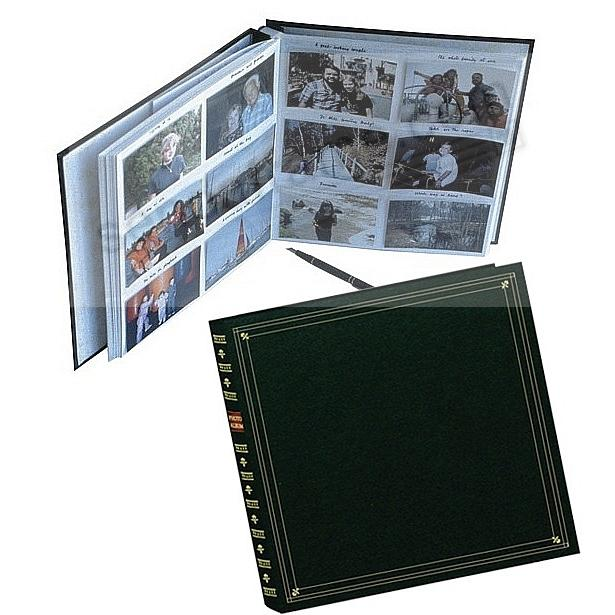 12-at-a-time ELITE Hunter-Green slip-in 5x3½ pockets album by Pioneer®