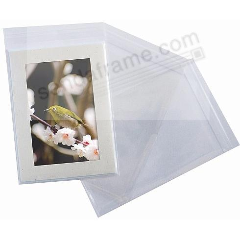 CLEAR 5-7/16 x 7-1/4 Sleeves for SIMPLICITY Photo Folders (sold in 10's)