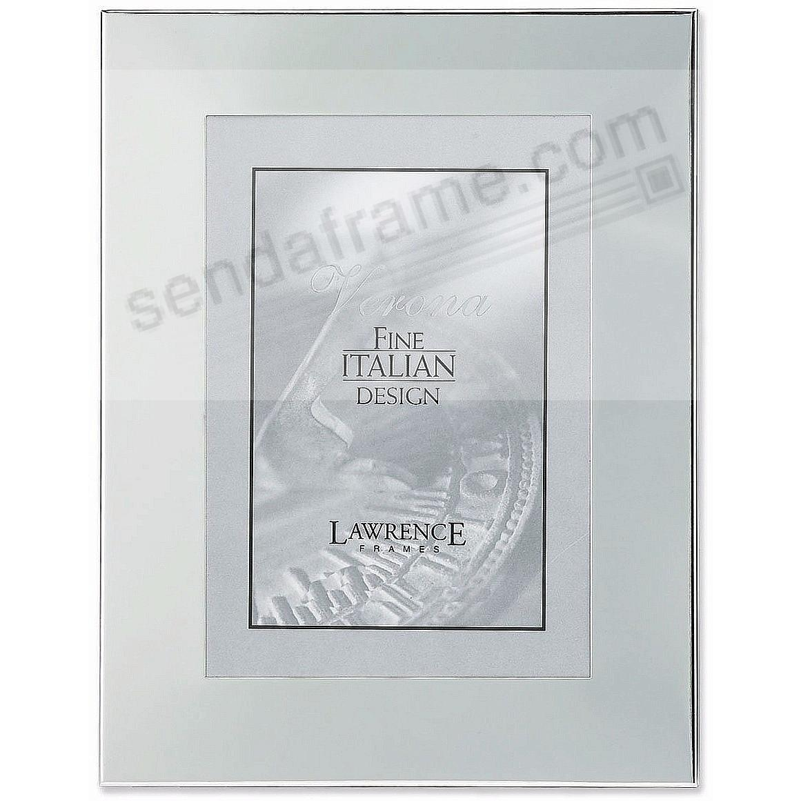 Lawrence framesr silver plated 5x7 engraveable picture for Engraved digital photo frame