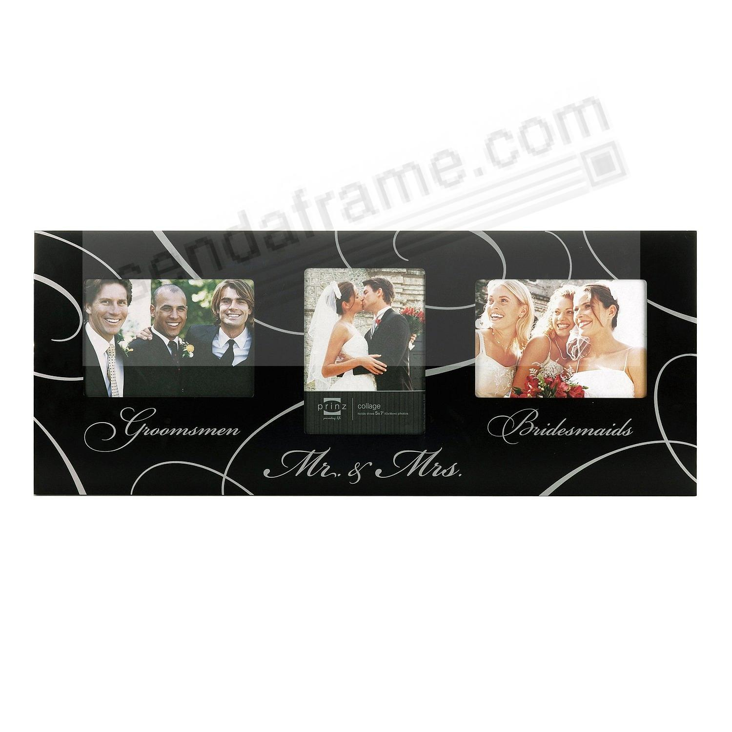 The WEDDING PARTY Collage wood frame by Prinz® - Picture Frames ...