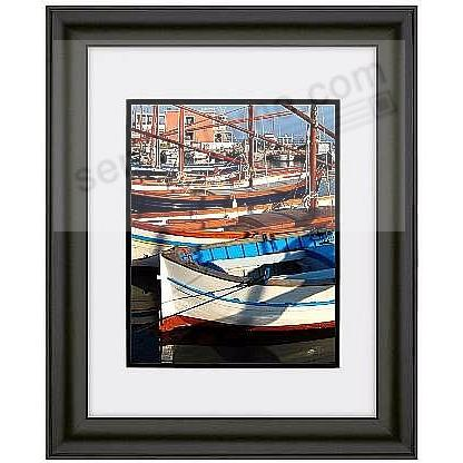 TREVISO luxe ebony-black matted 16x20/11x14 ARTCARE wall frame by Nielsen®