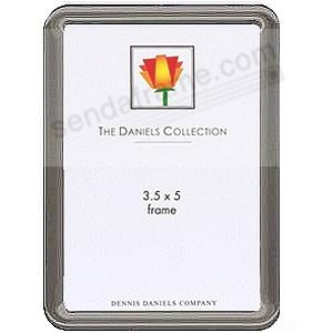 Classic nickel-plate with rounded corners by Dennis Daniels®