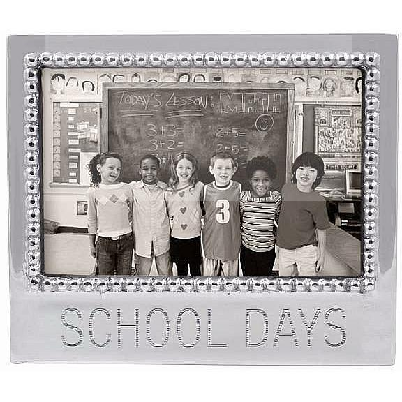 The original SCHOOL DAYS frame for 6x4 photos crafted by Mariposa®