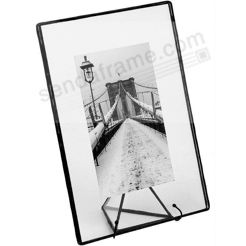 Clear Glass Float Frame 7x9/5x7 Black by Bedford Downing®