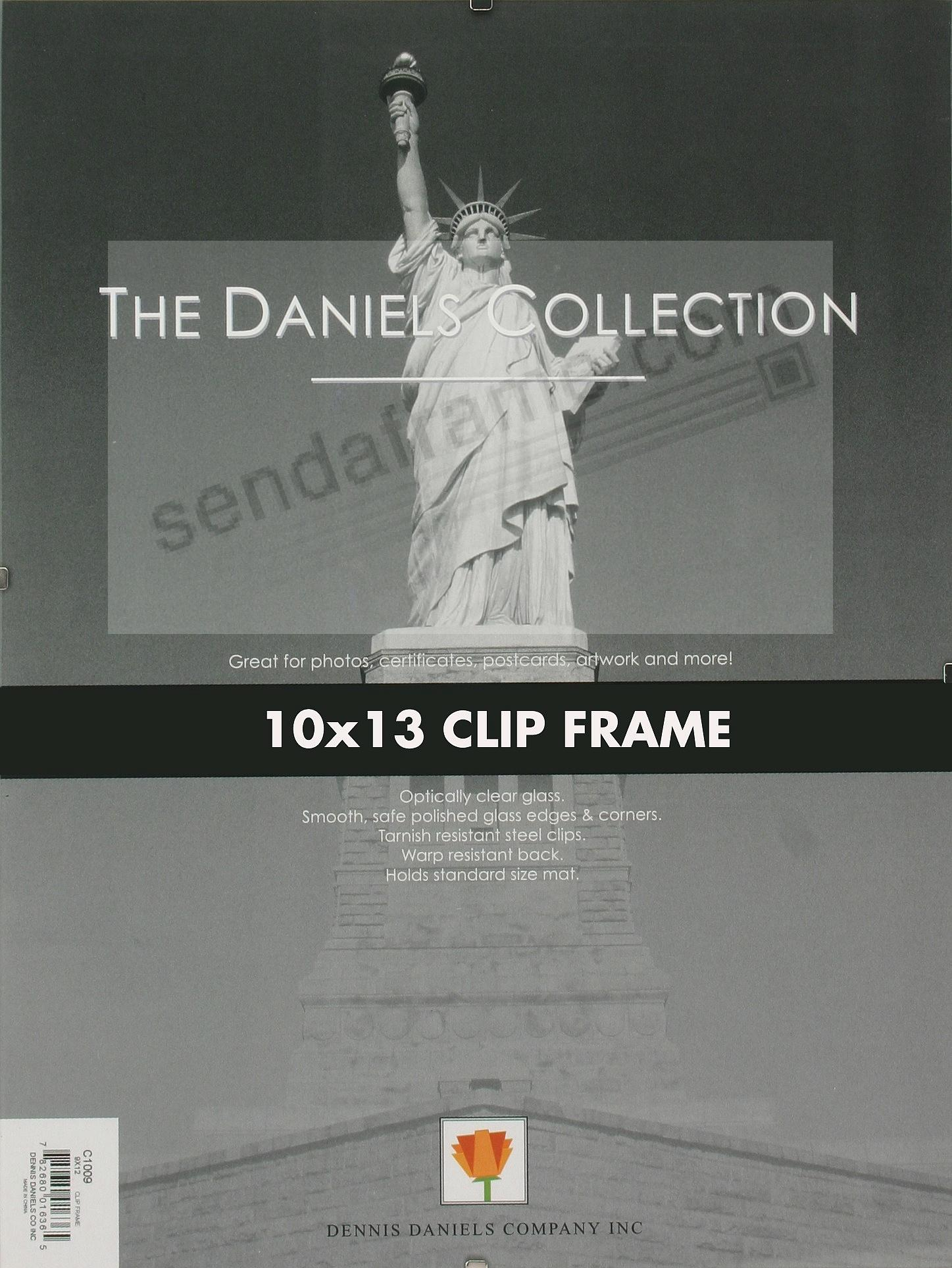 The FRAMELESS GLASS CLIP 10x13 frame by Dennis Daniels® - Picture ...