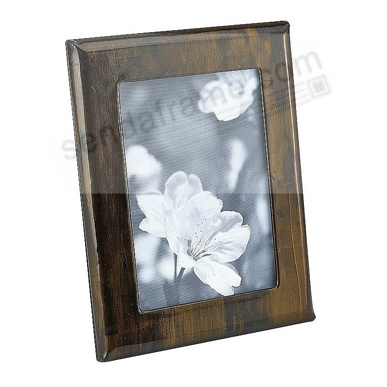 Profile Studio Frame in Sandalwood Fine Leather - Mahogany by Graphic Image™