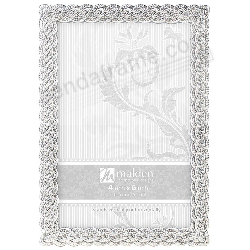 BELMORE Silver Braided Rope classic design by Malden®