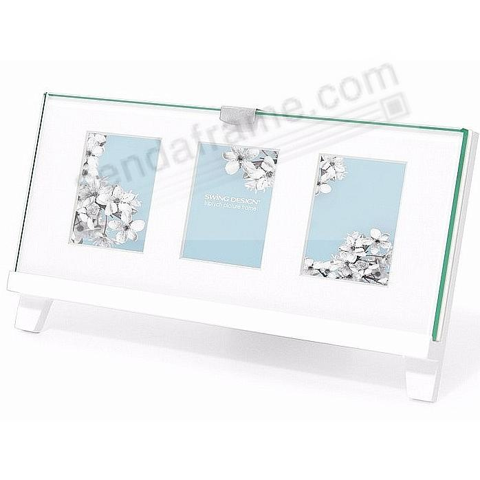 The Original EASEL White Triptych frame 2x2½ by Swing Design ...
