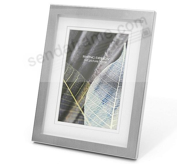 The Original PARKER Brushed Nickel matted 8x10/5x7 frame by Swing ...