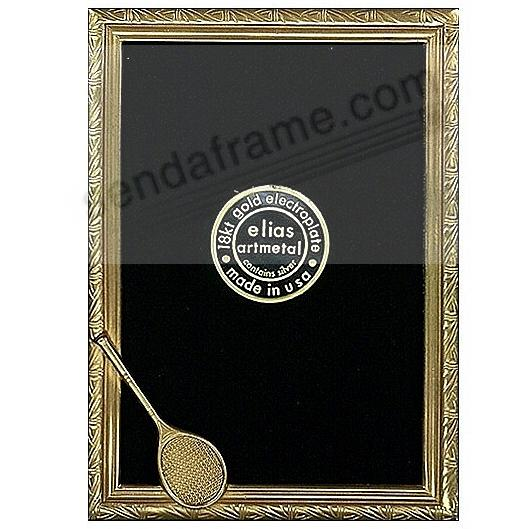 TENNIS ACE by Elias Artmetal® in 18kt gold over fine pewter