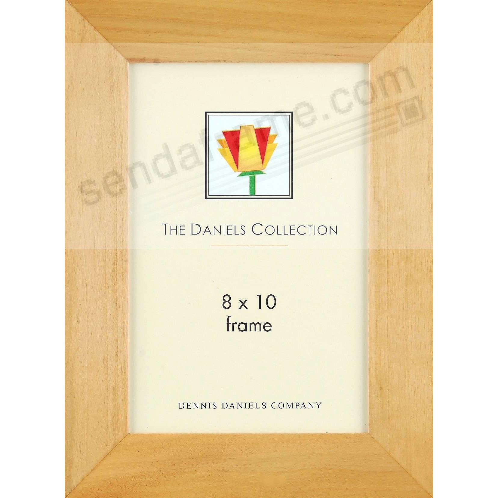 Bevelled natural-blonde stain wood classic by Dennis Daniels®