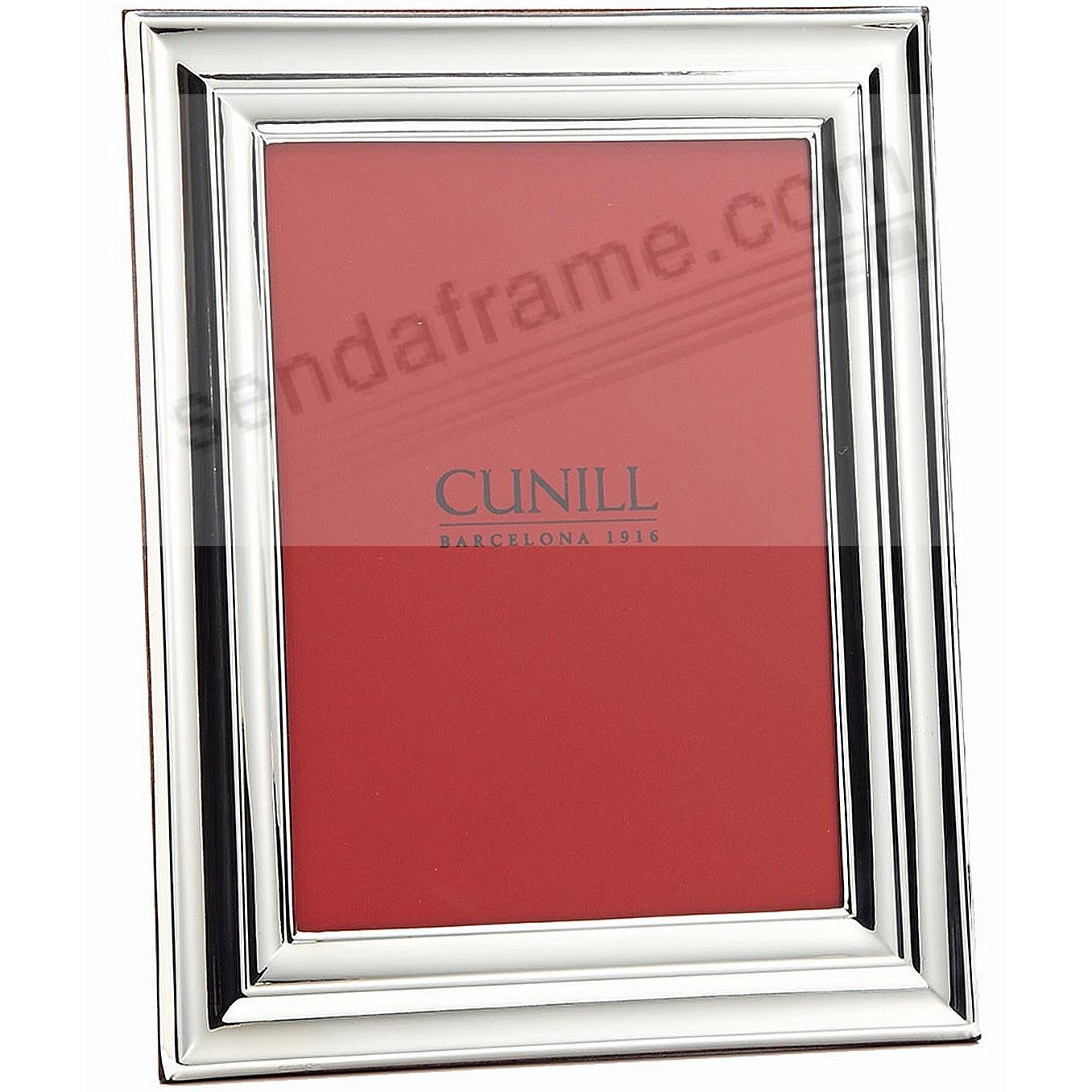 EMPIRE Fine .925 Sterling Silver 5x7 frame by Cunill®
