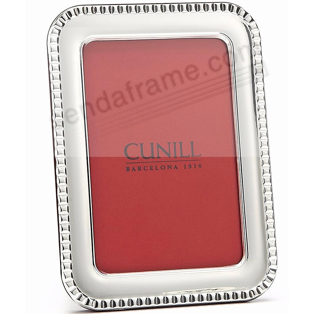 PARIS Fine Sterling Silver 5x7 frame<br>by Cunill&reg;