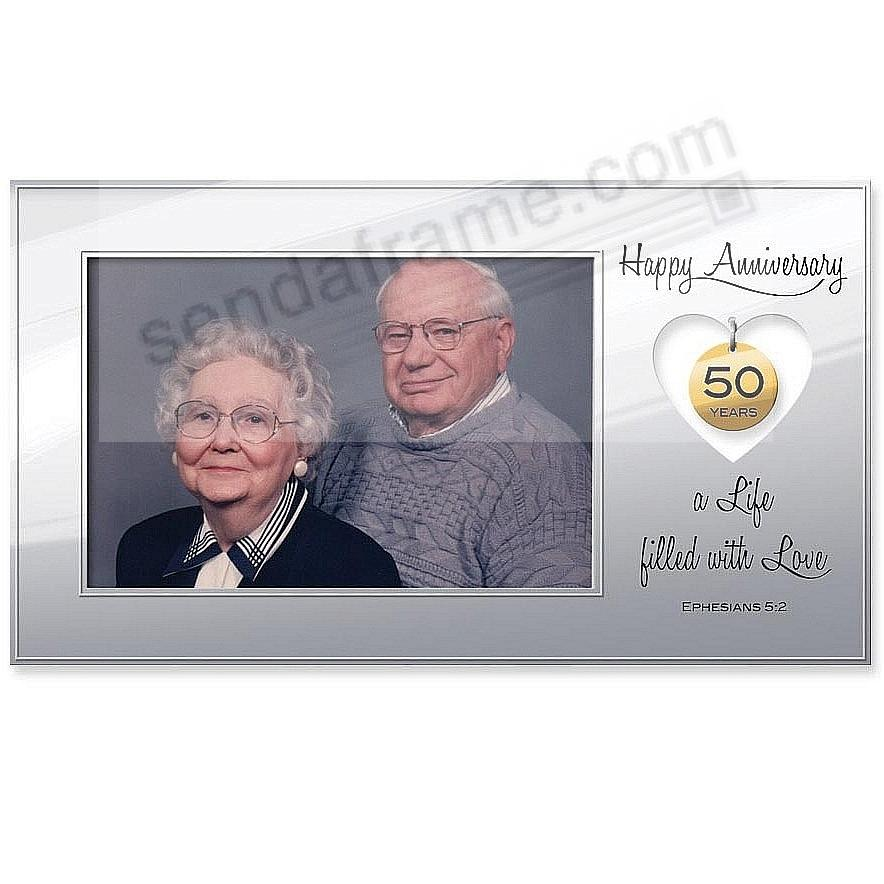 Celebrate a 50th Anniversary with this special frame - Picture ...