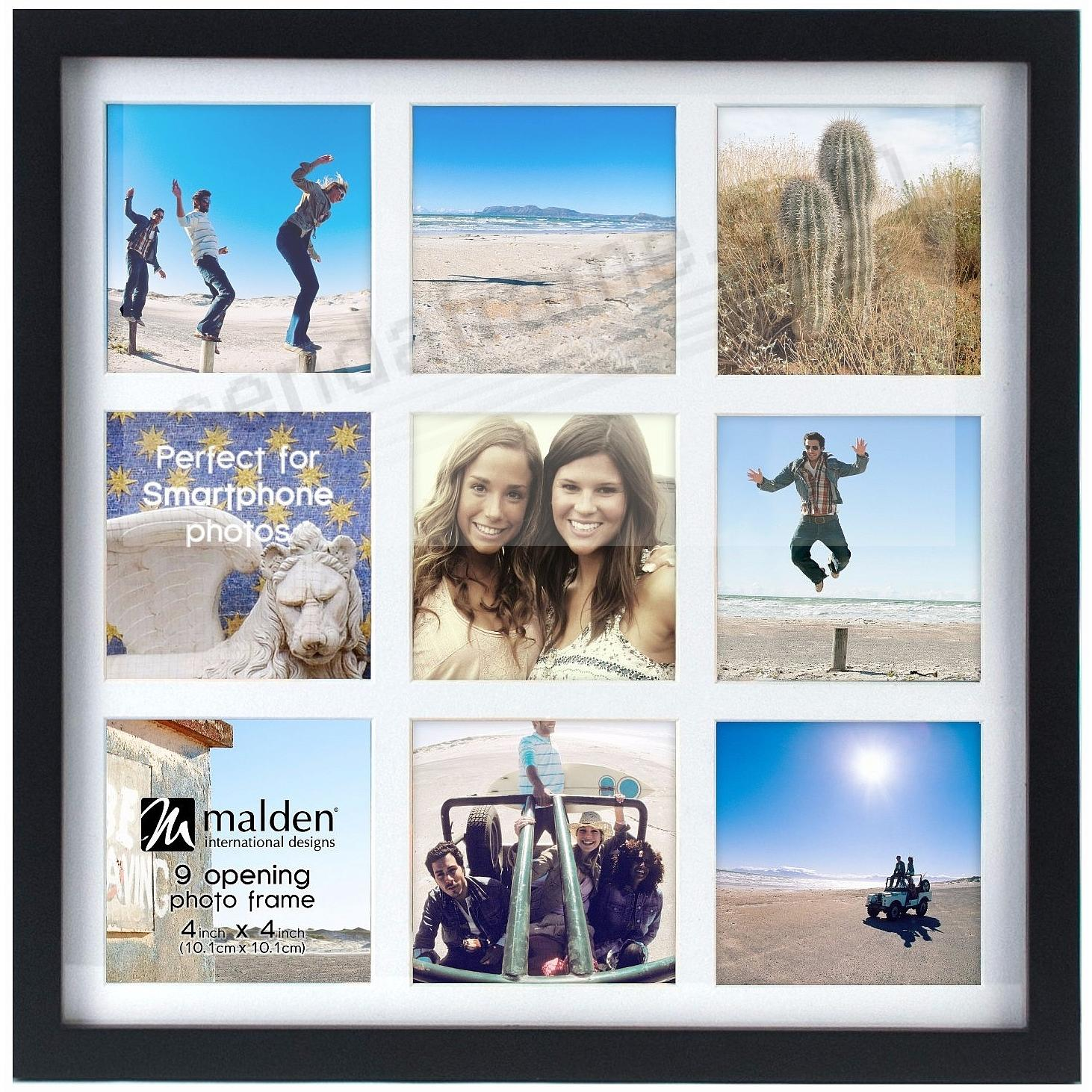 The SMART COLLAGE frame for Smartphone size 4x4 photos (9) by Malden ...