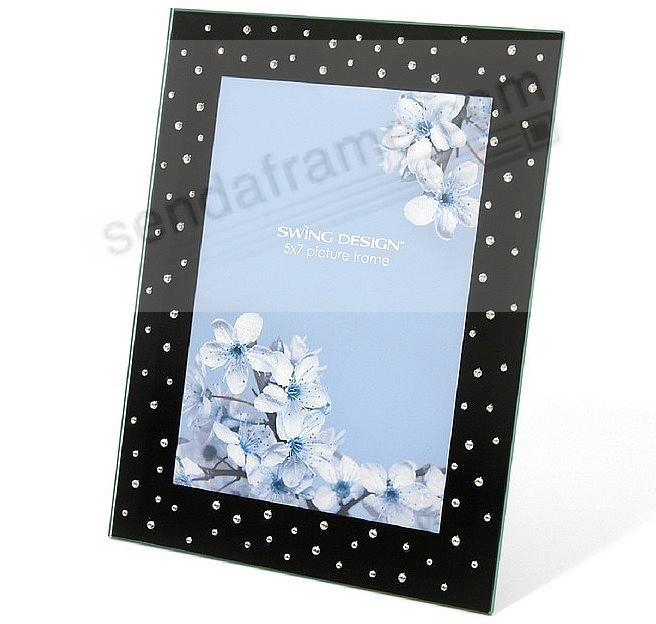 the original bella black crystal frame by swing design