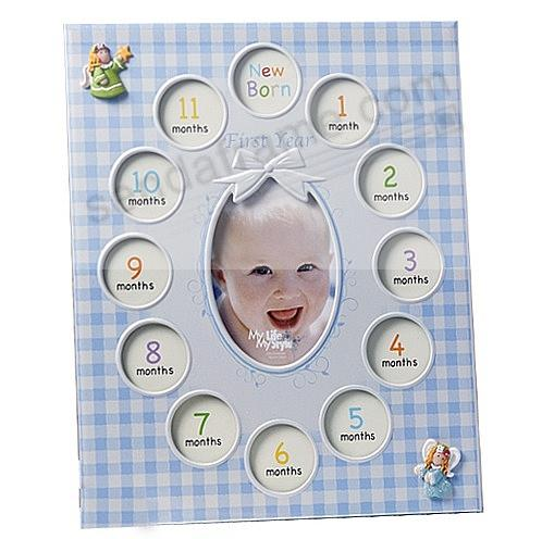 Our Baby Boy FIRST YEAR COLLAGE frame displays 13 photos - Picture ...