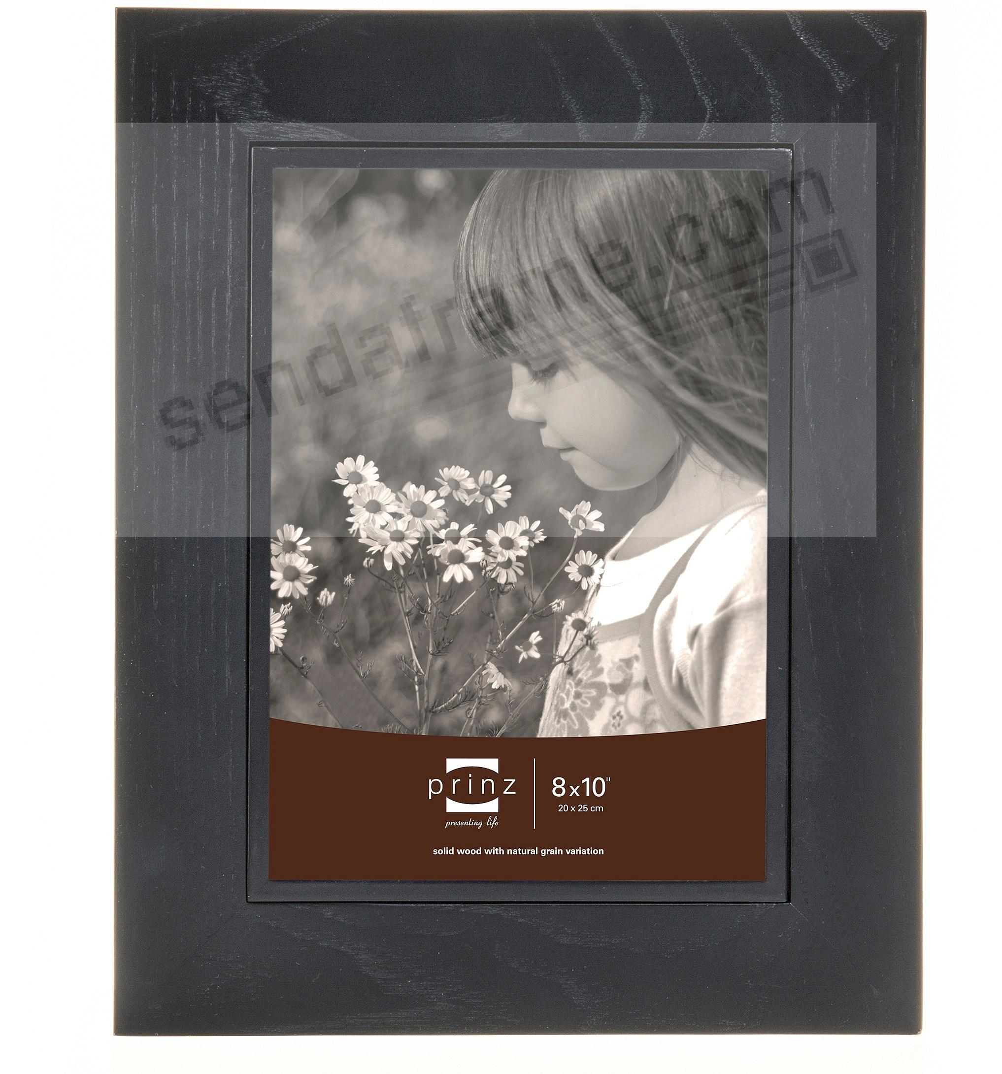 ADLER black stained wood frame from Prinz®