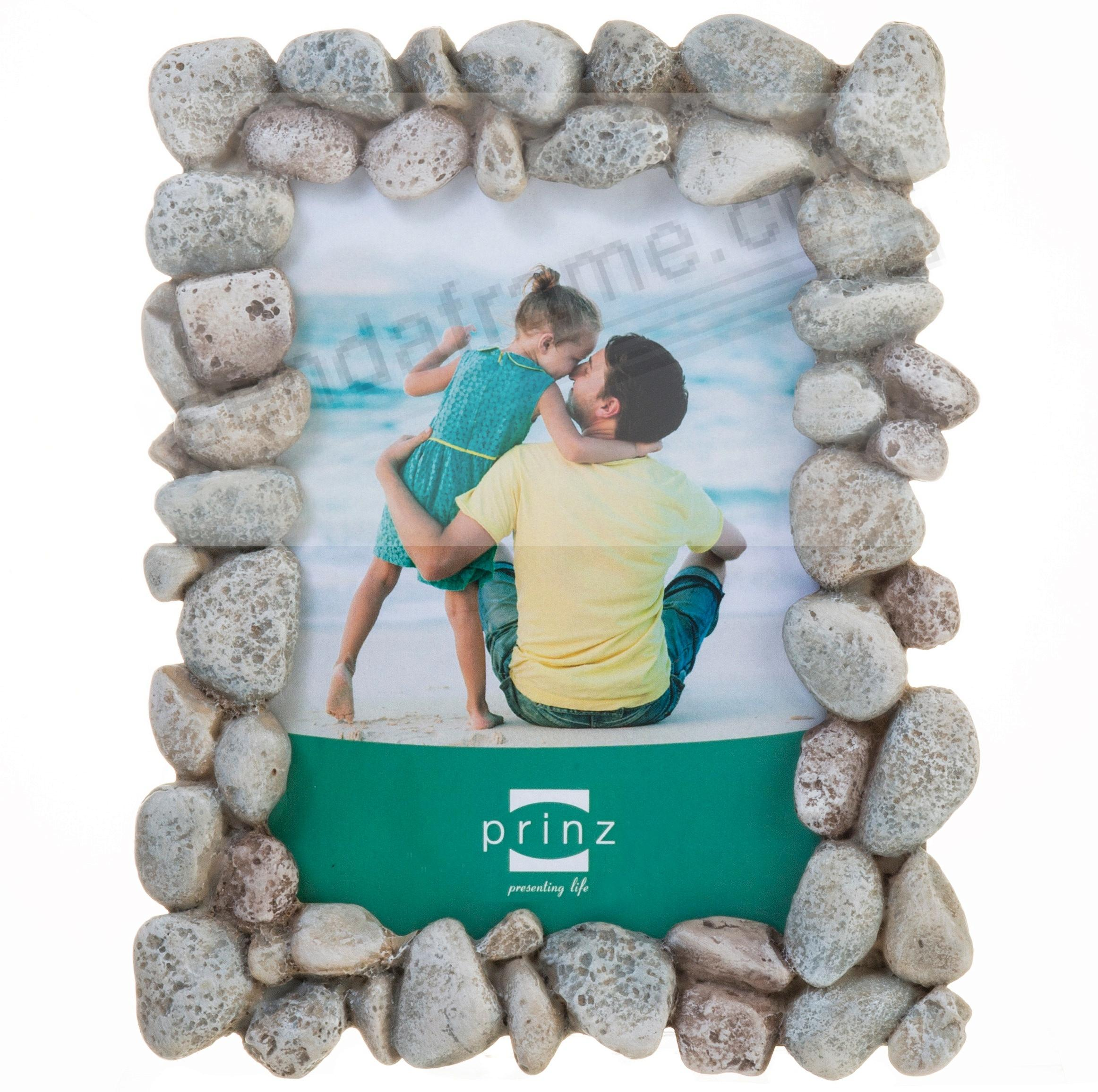 BEACH ROCKS rustic frame by Prinz Designs®