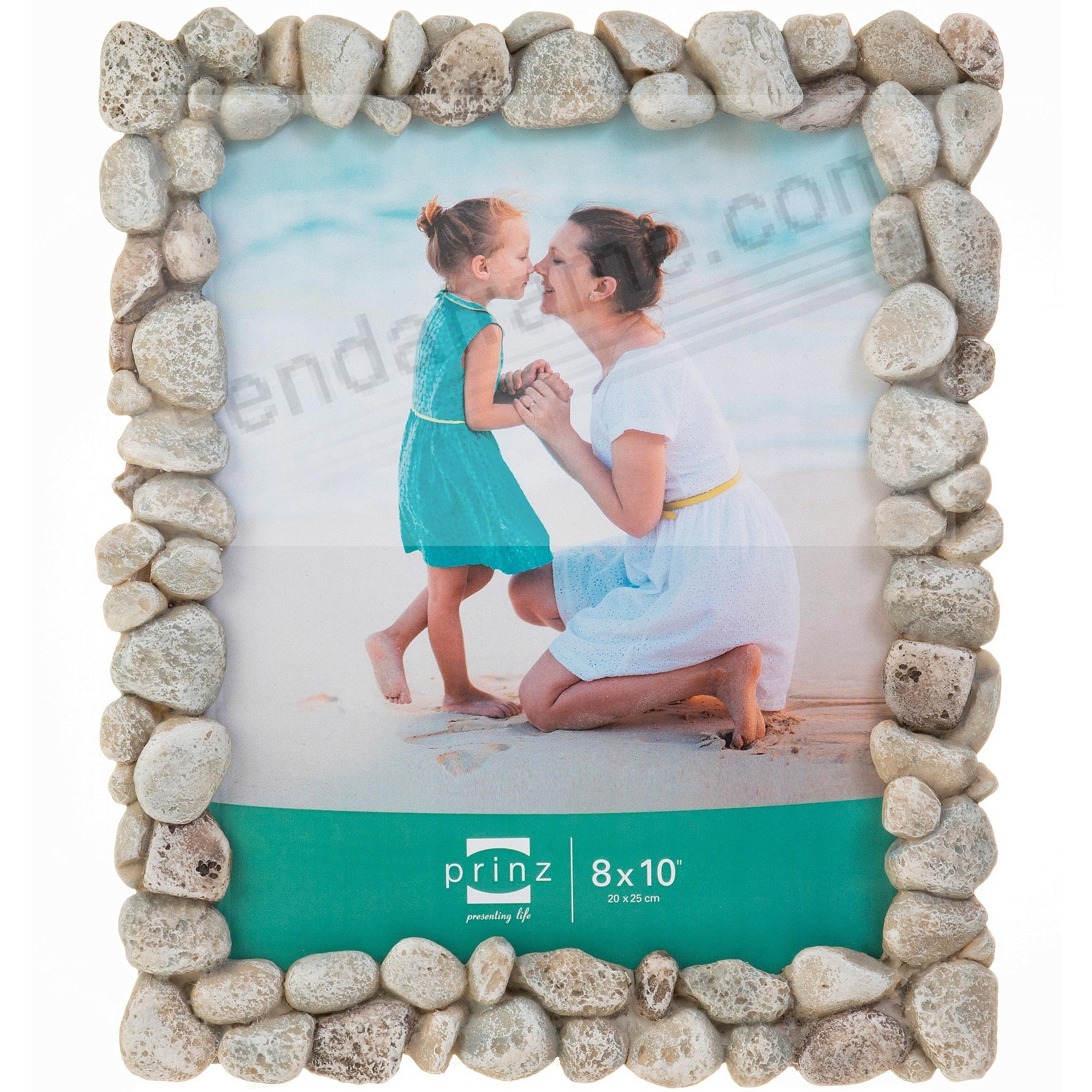 beach rocks rustic frame by prinz designs