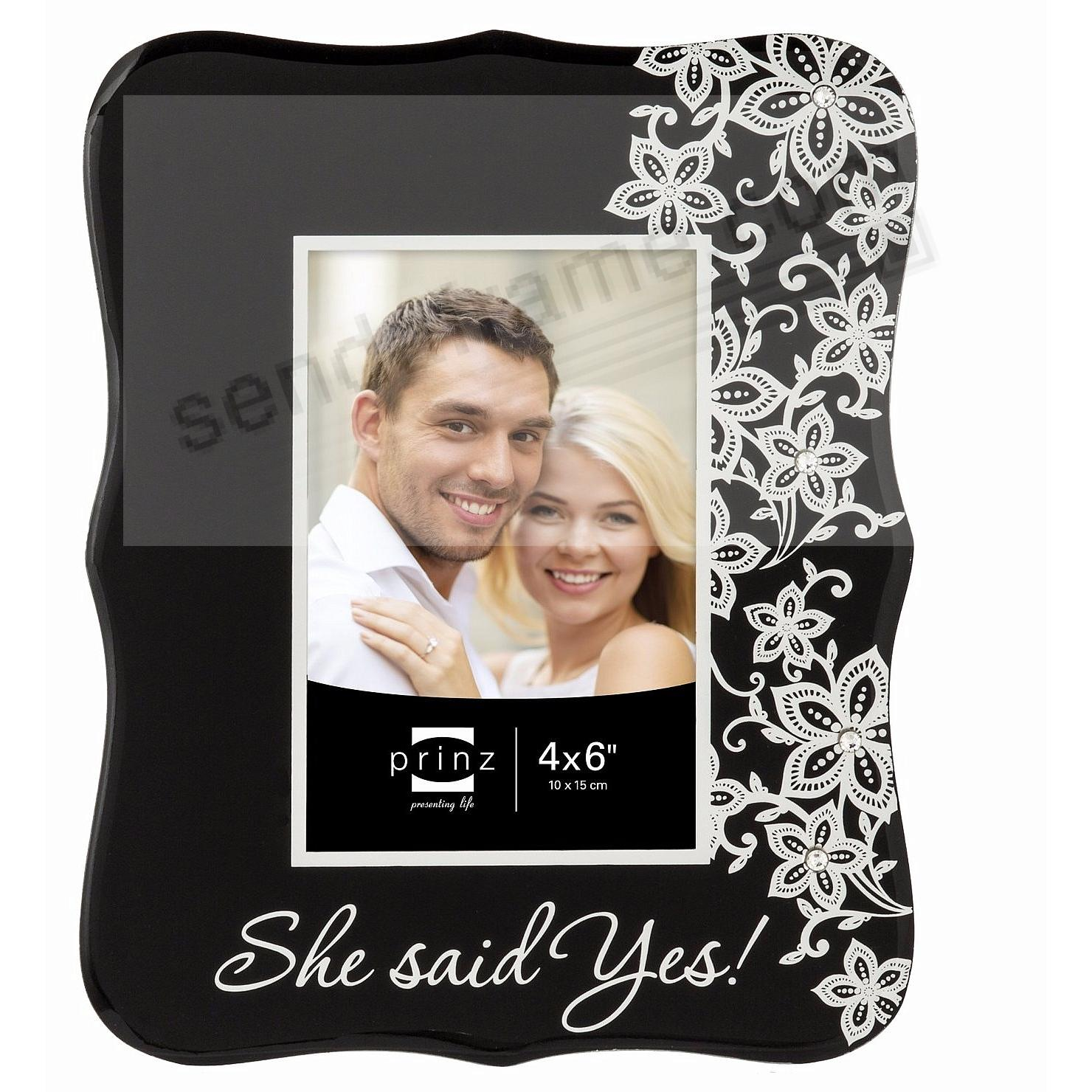 She Said Yes Frame By Prinz Picture Frames Photo Albums