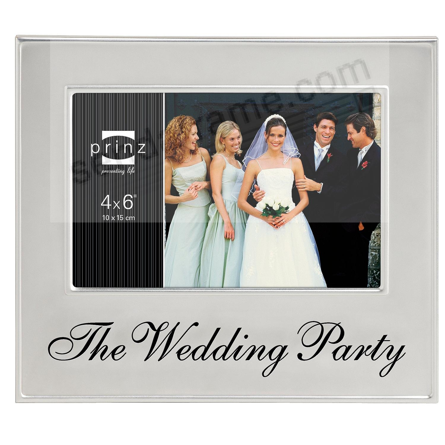 THE WEDDING PARTY frame by Prinz® - Picture Frames, Photo Albums ...