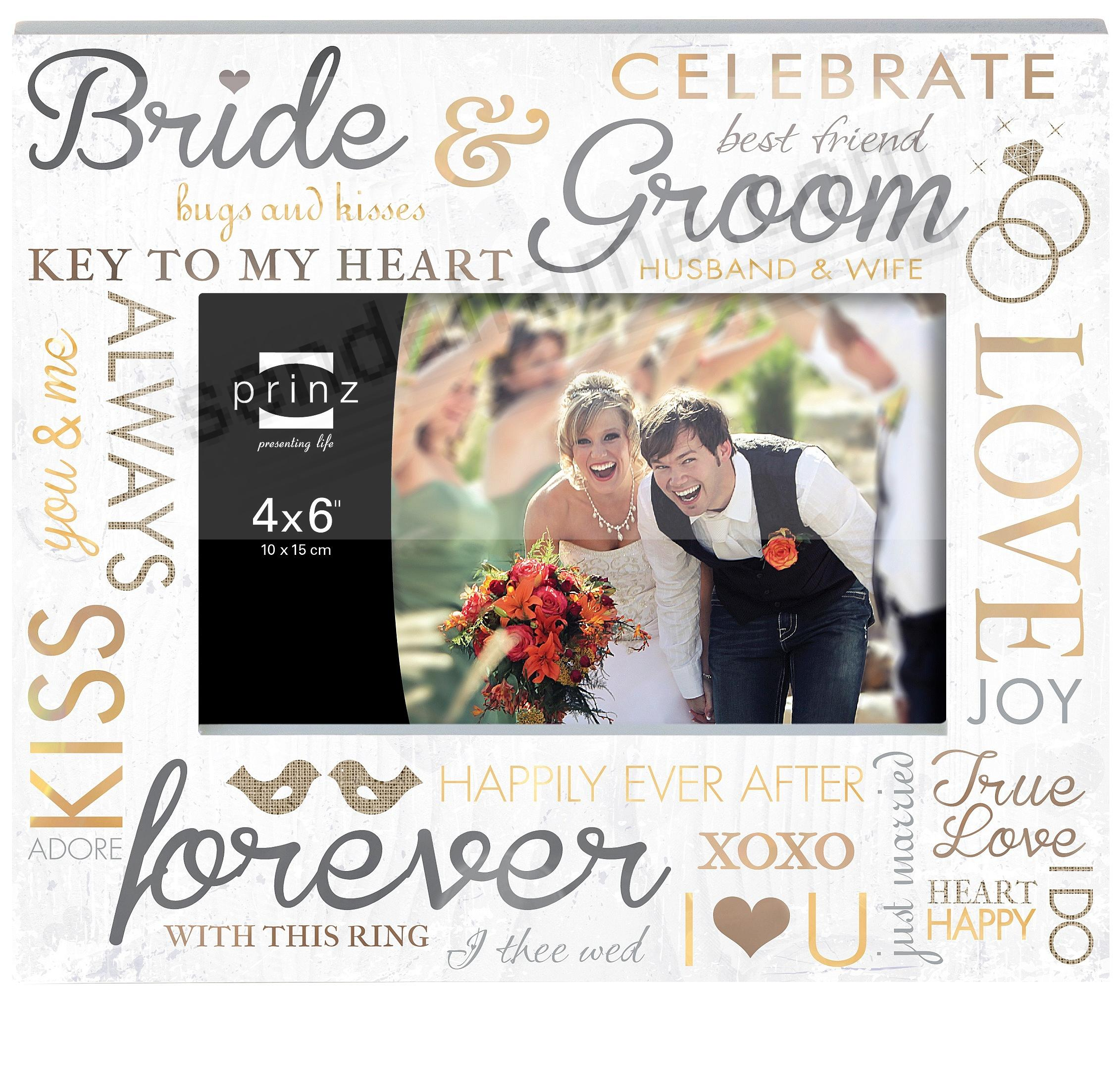 OUR WEDDING DAY frame by Prinz® - Picture Frames, Photo Albums ...