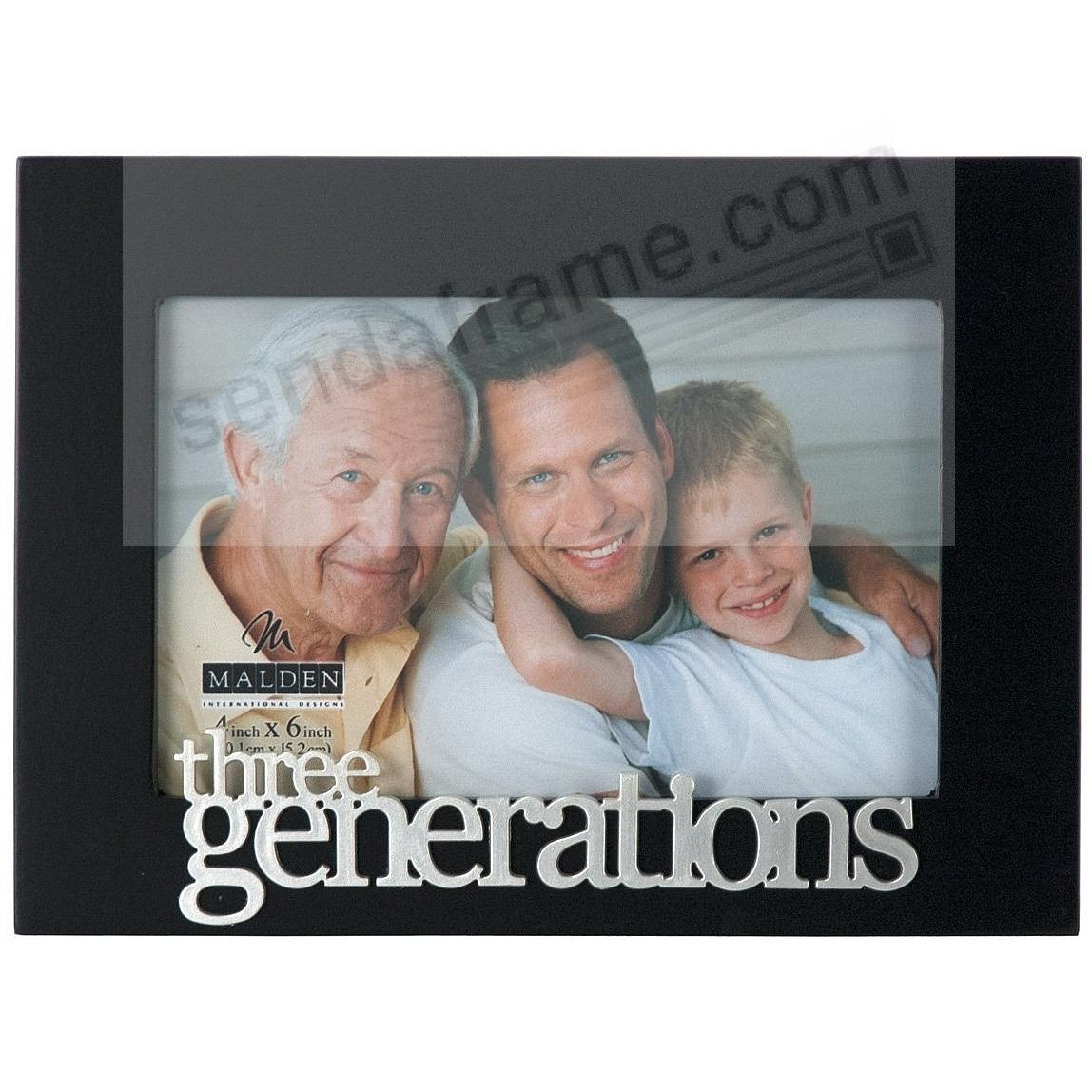 THREE GENERATIONS Expressions frame by Malden®
