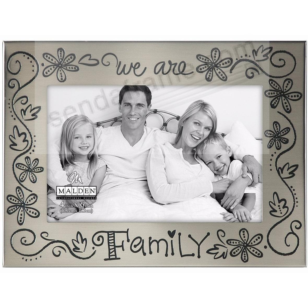 WE ARE FAMILY by Malden Designs® - Picture Frames, Photo Albums ...