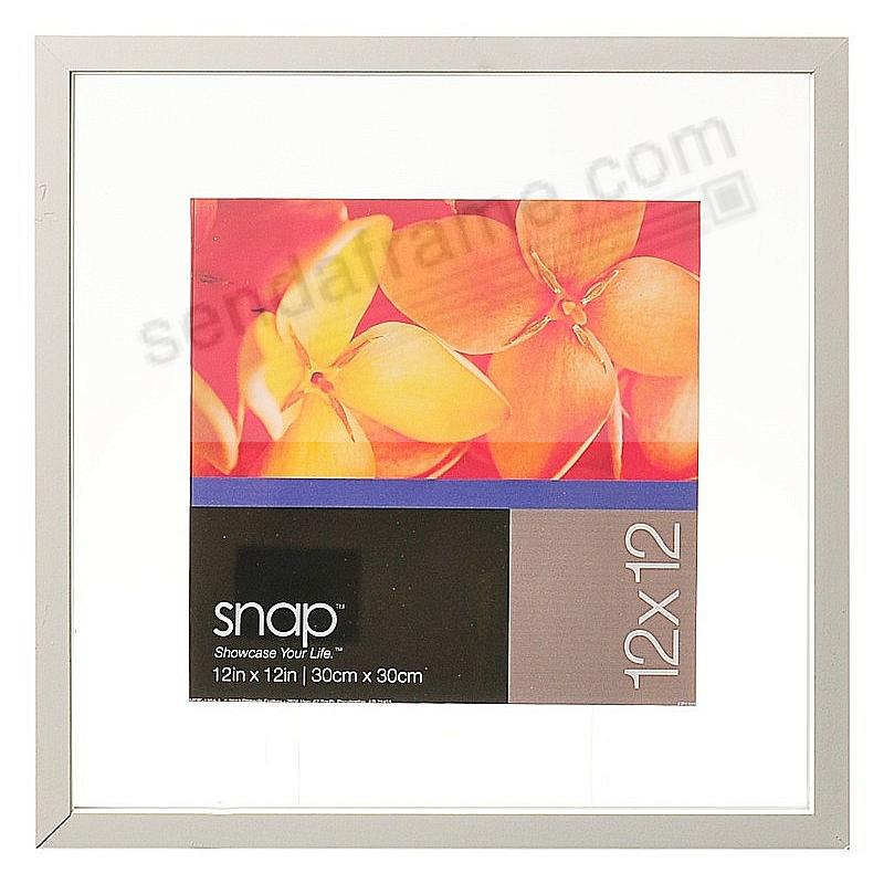 White Float Frame 12x12 by SNAP™ - Picture Frames, Photo Albums ...