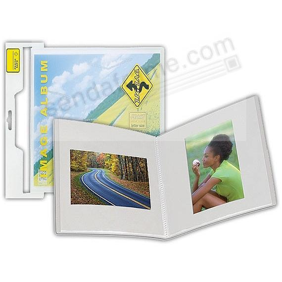 The New ZIGZAG Frost Image Bound Photo Album for 12x12 (square) prints by Itoya®