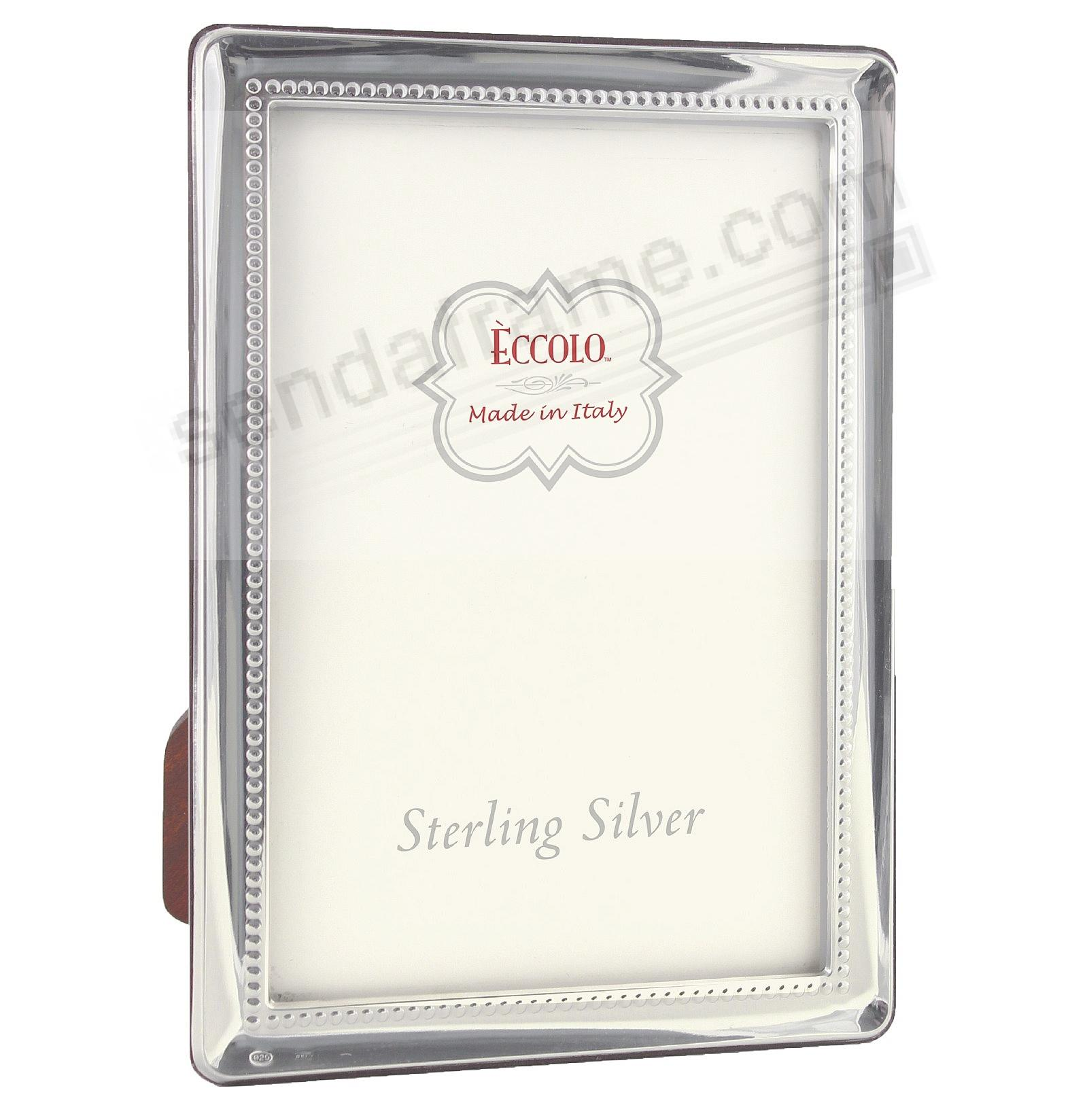 OXFORD INNER BEADING Fine .925 Sterling Silver frame from Italy by ...