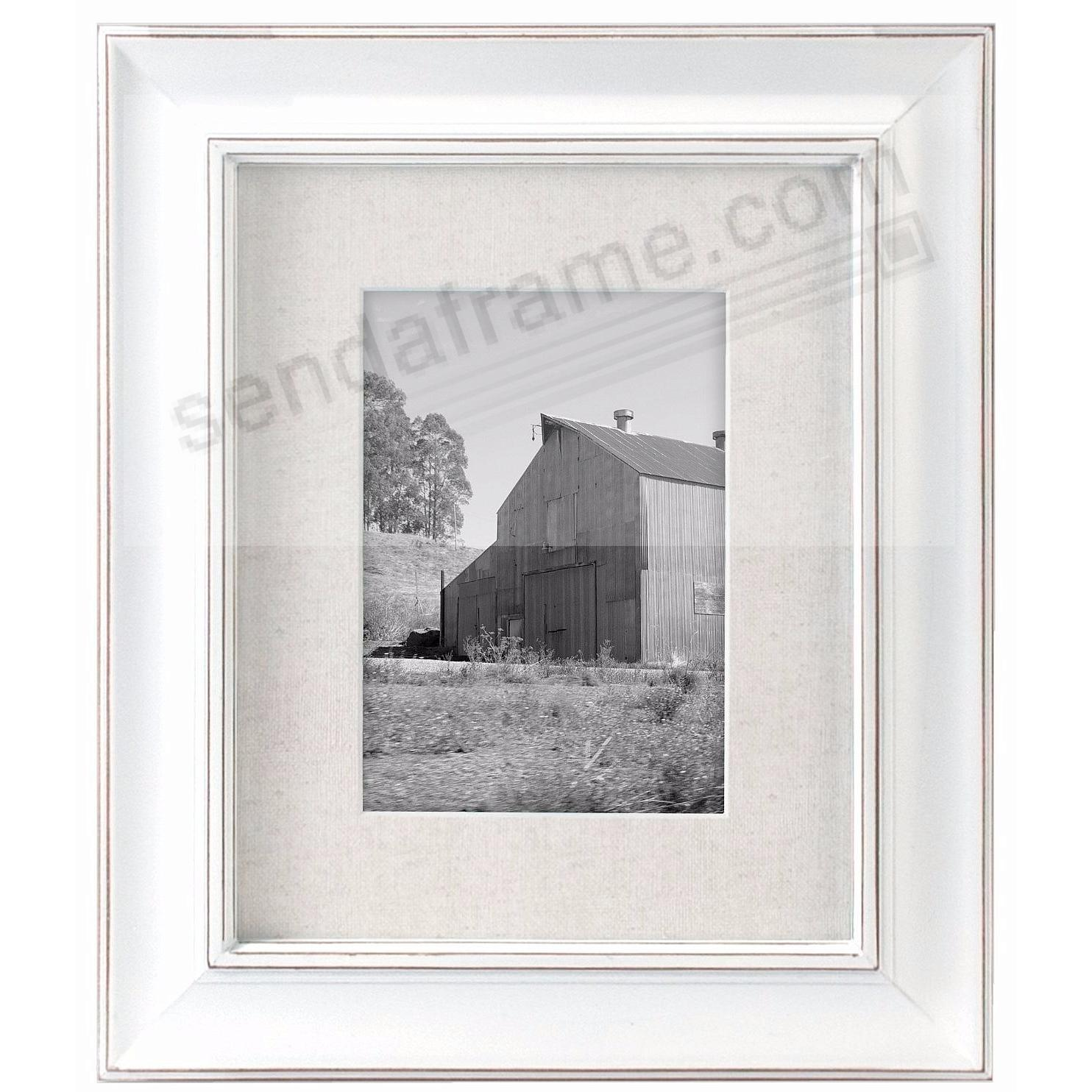 barnside white 8x105x7 frame by malden