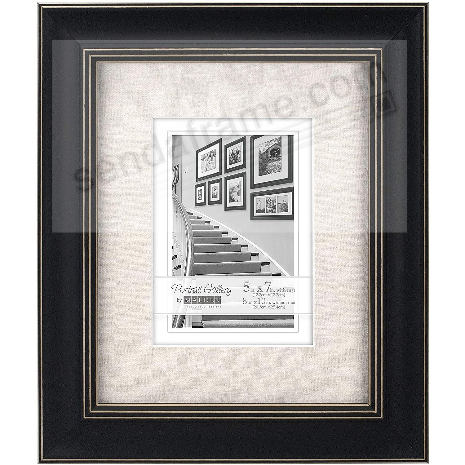 BARNSIDE Weathered Black 8x10/5x7 frame by Malden® - Picture Frames ...
