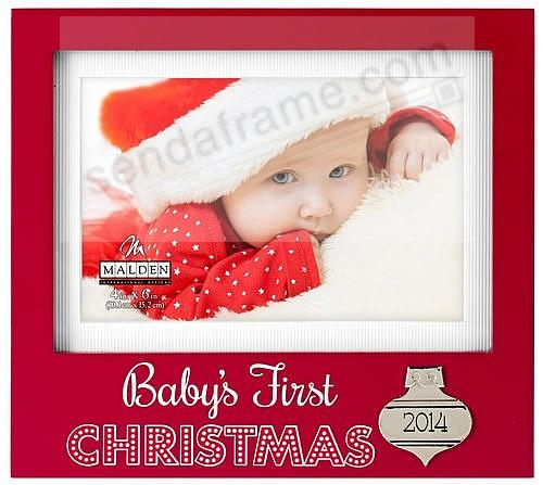 Baby S First Christmas 2014 Frame By Malden Design