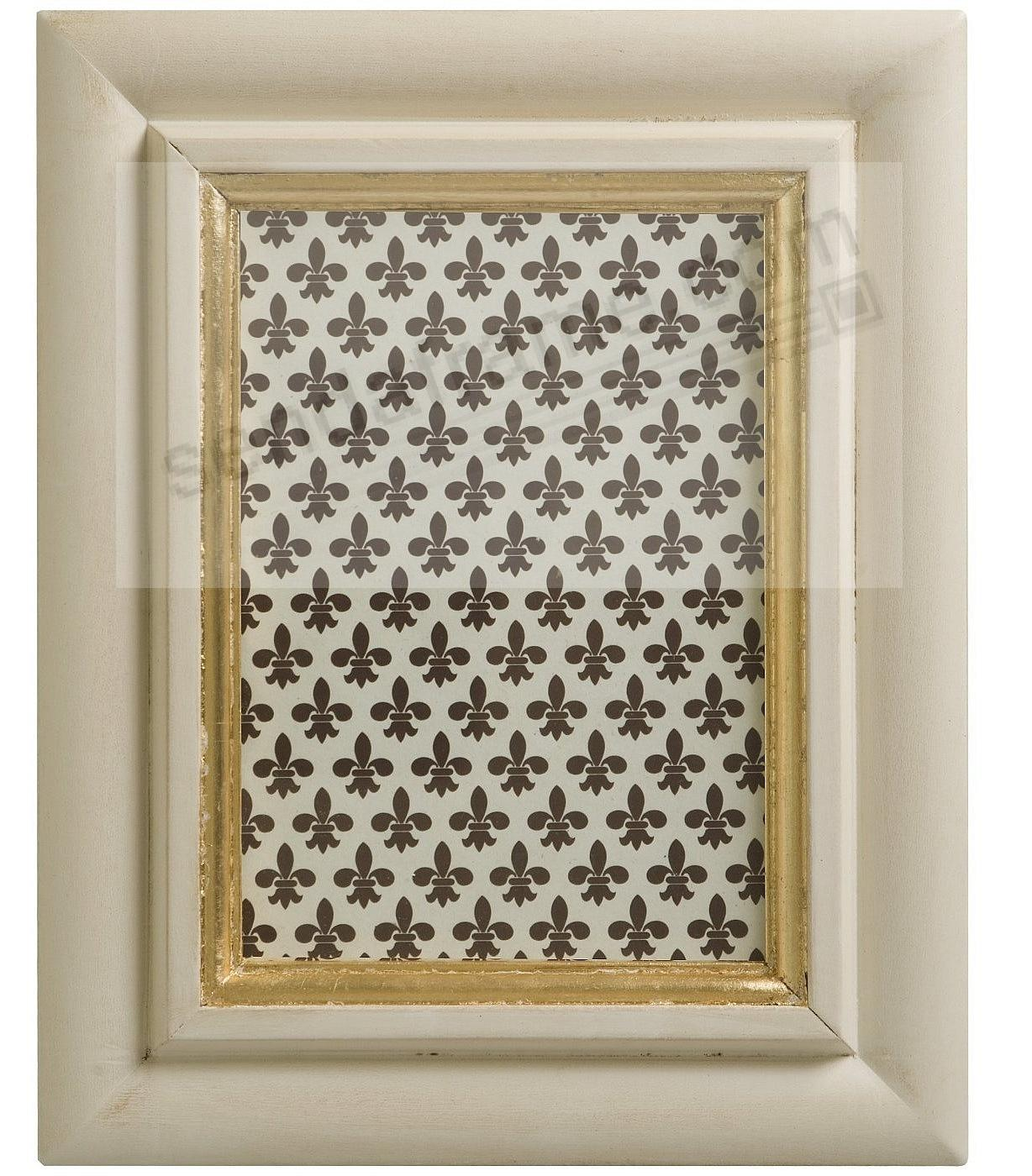 Antique ivory and gold carved wood 5x7 frame by eccolo picture antique ivory and gold carved wood 5x7 frame by eccolo jeuxipadfo Image collections