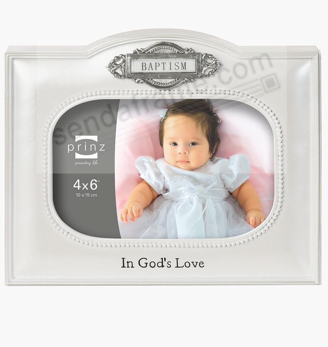 Silver BAPTISM frame by Prinz® - Picture Frames, Photo Albums ...