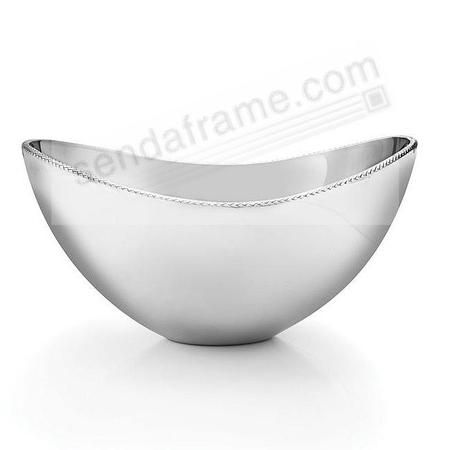 The Original BRAID 5-Quart (Large) Serving BOWL crafted by Nambe®