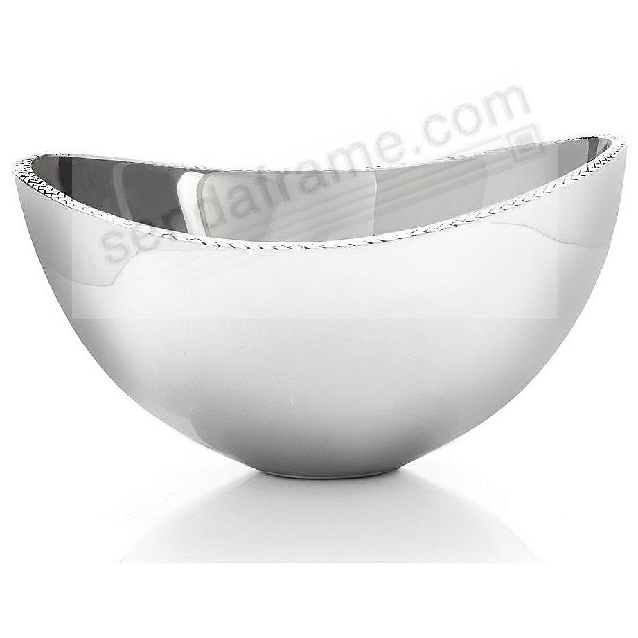 The Original BRAID 3-Quart (Medium) Serving BOWL crafted by Nambe®