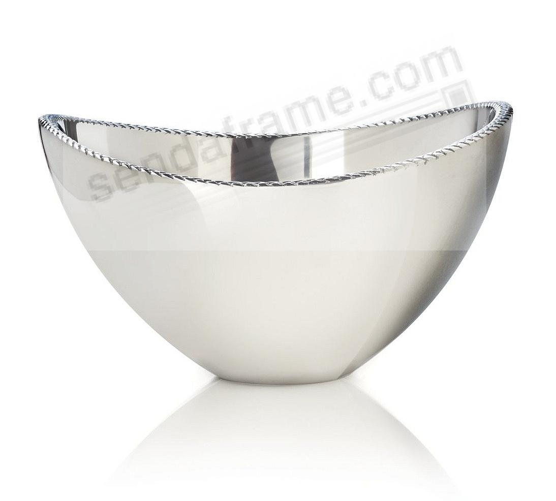 The Original BRAID 1½-Quart (Small) Serving BOWL crafted by Nambe®