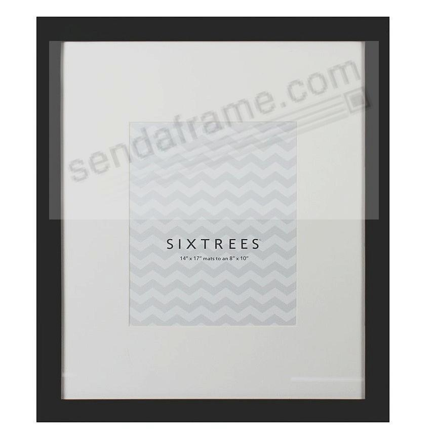 Black Matted 14x17 8x10 Frame By